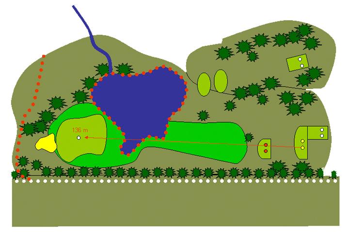 plano hoyo 18