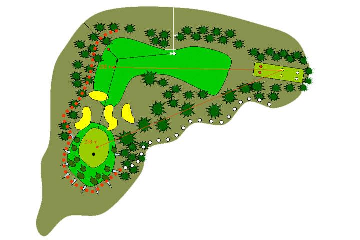 plano hoyo 12