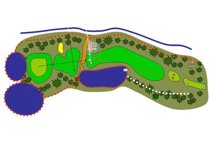 plano hoyo 15