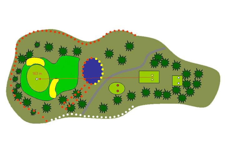 plano hoyo 16