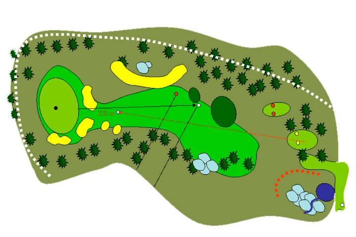 plano hoyo 9