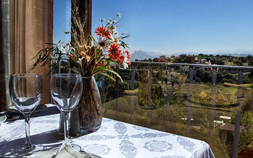 Restaurante en el campo de golf de Antequera