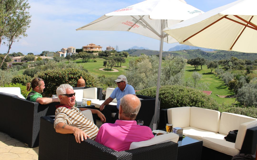 Moments of relaxation and nature on the Antequera Golf terrace