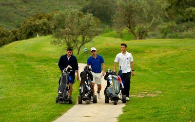 Jugar al golf, un buen propósito de Año Nuevo