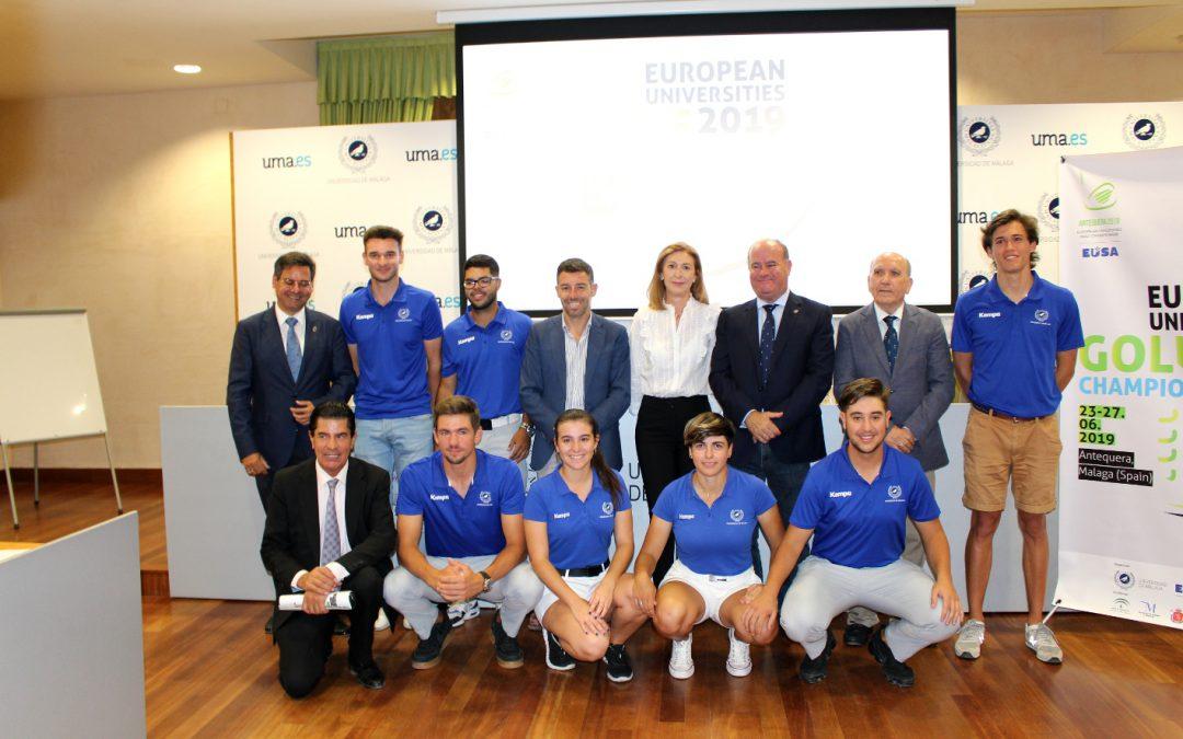 El Grupo Antequera Golf acoge el Campeonato Europeo de Golf Universitario