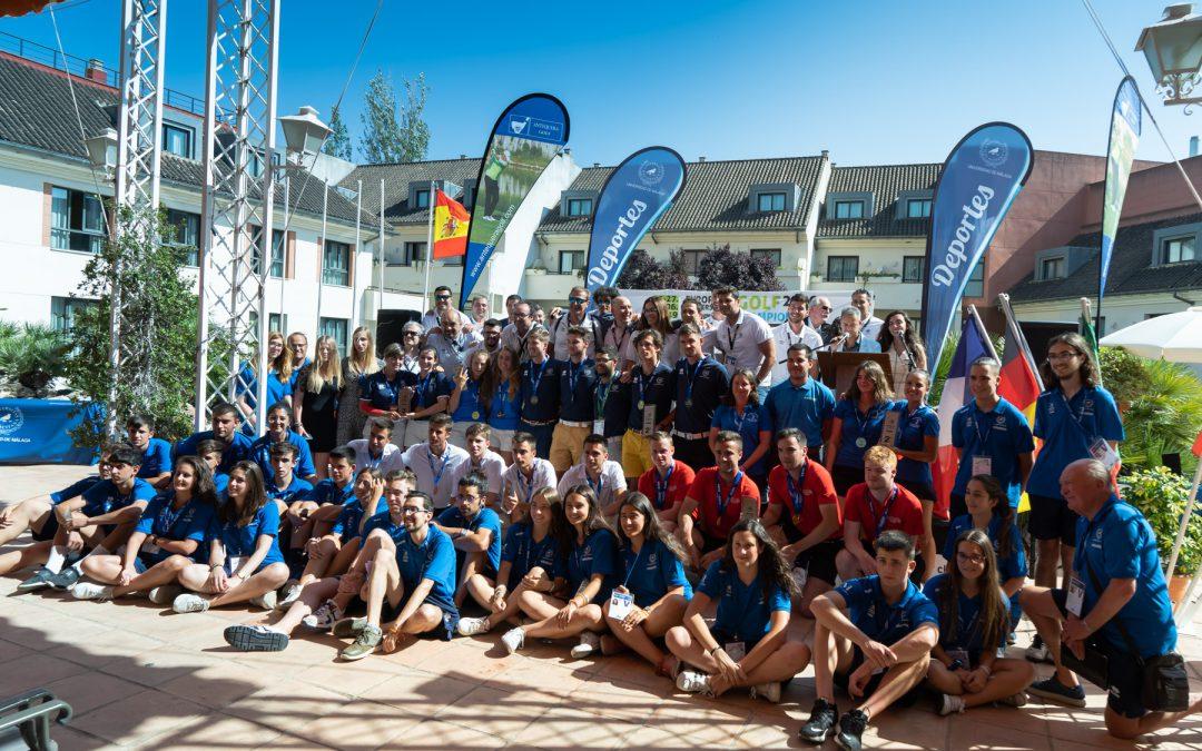 El Torneo Europeo de Gol Univeristario finaliza con la española Esperanza Serrano como campeona en la categoría femenina y el escocés Jordan Sundborg en la masculina