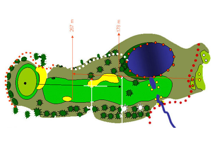 plano del hoyo 1